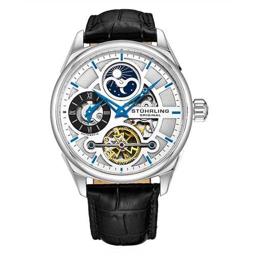 ストゥーリングオリジナル/Stuhrling Original/腕時計/Legacy/Special Reserve 657/657.01/メンズ/オートマチック/デュアルタイム/シルバー