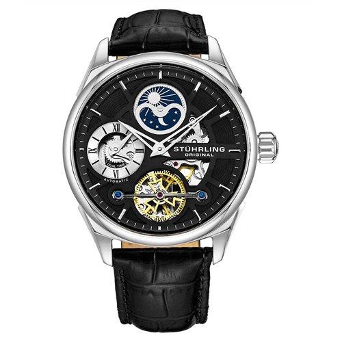 ストゥーリングオリジナル/Stuhrling Original/腕時計/Legacy/Special Reserve 657/657.02/メンズ/オートマチック/デュアルタイム/ブラック