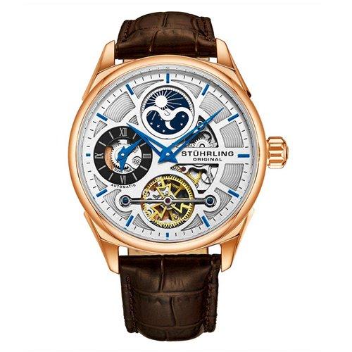 ストゥーリングオリジナル/Stuhrling Original/腕時計/Legacy/Special Reserve 657/657.04/メンズ/オートマチック/デュアルタイム/ローズゴールド