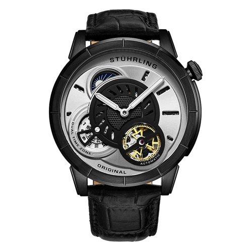 ストゥーリングオリジナル/Stuhrling Original/腕時計/Legacy/Tesla 686/686.01/メンズ/オートマチック/デュアルタイム/オープンハート