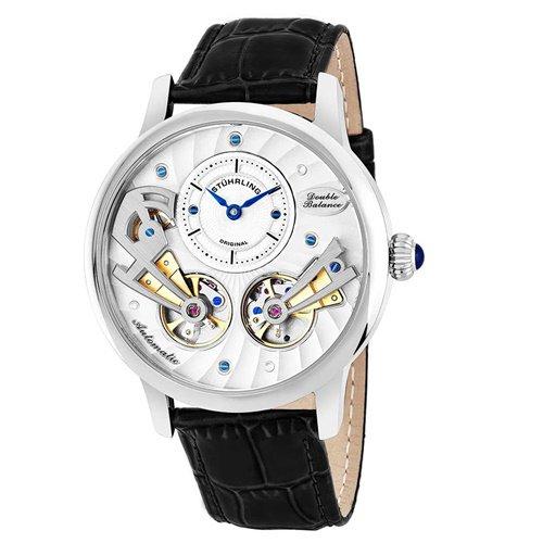 ストゥーリングオリジナル/Stuhrling Original/腕時計/Legacy/Sagittarian 740/740.01/メンズ/オートマチック/ダブルオープンハート/シルバー