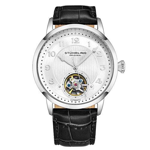 ストゥーリングオリジナル/Stuhrling Original/腕時計/Legacy/Perennial 781/781.01/メンズ/オートマチック/オープンハート/シルバー