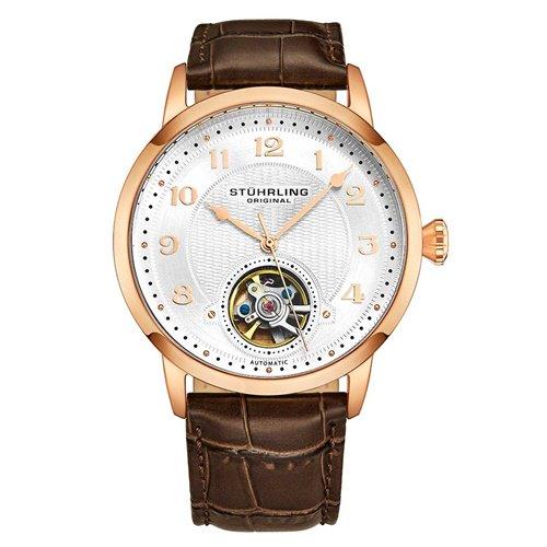 ストゥーリングオリジナル/Stuhrling Original/腕時計/Legacy/Perennial 781/781.05/メンズ/オートマチック/オープンハート/ローズゴールド