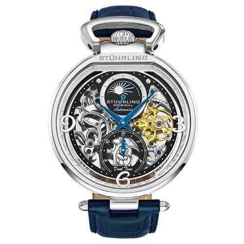 ストゥーリングオリジナル/Stuhrling Original/腕時計/Legacy/Modena 889/889.01/メンズ/オートマチック/デュアルタイム/AM/PMインジケーター
