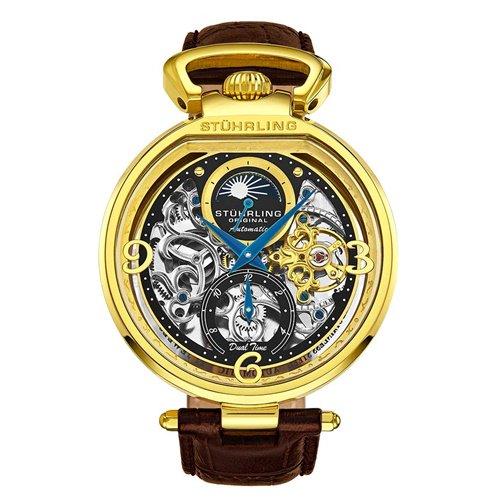 ストゥーリングオリジナル/Stuhrling Original/腕時計/Legacy/Modena 889/889.02/メンズ/オートマチック/デュアルタイム/AM/PMインジケーター
