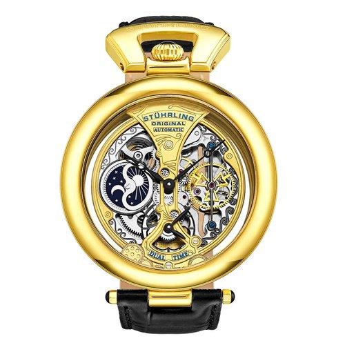 ストゥーリングオリジナル/Stuhrling Original/腕時計/Legacy/Emperor's Grandeur 127A/127A.333531/メンズ/オートマチック/ゴールド