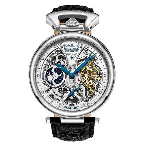 ストゥーリングオリジナル/Stuhrling Original/腕時計/Legacy/Emperor's Grand DT 127A2/127A2.33152/メンズ/オートマチック/シルバー