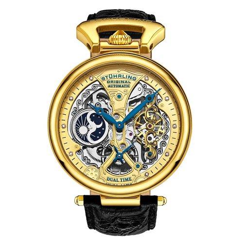 ストゥーリングオリジナル/Stuhrling Original/腕時計/Legacy/Emperor's Grand DT 127A2/127A2.333519/メンズ/オートマチック/ゴールド