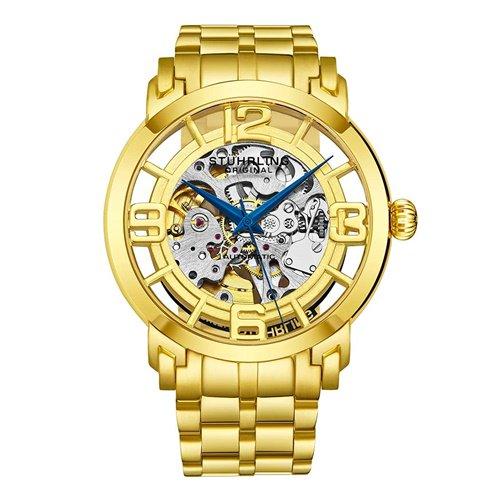 ストゥーリングオリジナル/Stuhrling Original/腕時計/Legacy/Winchester 44 Elite 165B2B/165B2B.333331/メンズ/オートマチック/ゴールド