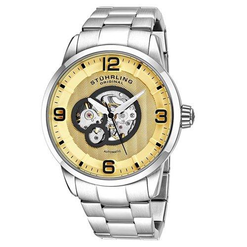 ストゥーリングオリジナル/Stuhrling Original/腕時計/Legacy/Delphi 648B/648B.01/メンズ/オートマチック/ゴールド
