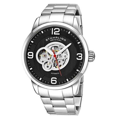 ストゥーリングオリジナル/Stuhrling Original/腕時計/Legacy/Delphi 648B/648B.02/メンズ/オートマチック/ブラック
