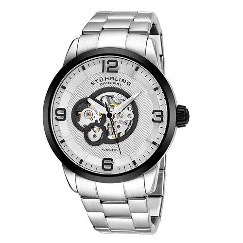 ストゥーリングオリジナル/Stuhrling Original/腕時計/Legacy/Delphi 648B/648B.03/メンズ/オートマチック/シルバー
