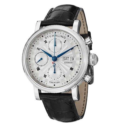 ストゥーリングオリジナル/Stuhrling Original/腕時計/Monaco/Prestige 139/139.01/メンズ/スイスオートマチック/クロノグラフ/シルバー