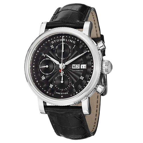 ストゥーリングオリジナル/Stuhrling Original/腕時計/Monaco/Prestige 139/139.02/メンズ/スイスオートマチック/クロノグラフ/ブラック