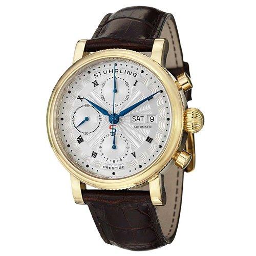 ストゥーリングオリジナル/Stuhrling Original/腕時計/Monaco/Prestige 139/139.03/メンズ/スイスオートマチック/クロノグラフ/ゴールド
