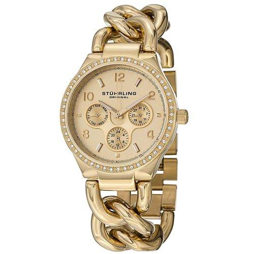 ストゥーリングオリジナル/Stuhrling Original/腕時計/Vogue/Lady Renoir Shine 813S/813S.03/レディース/クォーツ/マルチファンクション/ゴールド