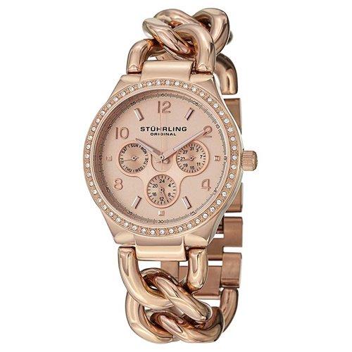 ストゥーリングオリジナル/Stuhrling Original/腕時計/Vogue/Lady Renoir Shine 813S/813S.04/レディース/マルチファンクション/ローズゴールド