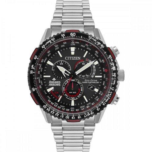 シチズン/CITIZEN/腕時計/プロマスター/レッドアローズ/メンズ/CB5008-82E/エコドライブ/電波時計/クロノグラフ/ワールドタイム