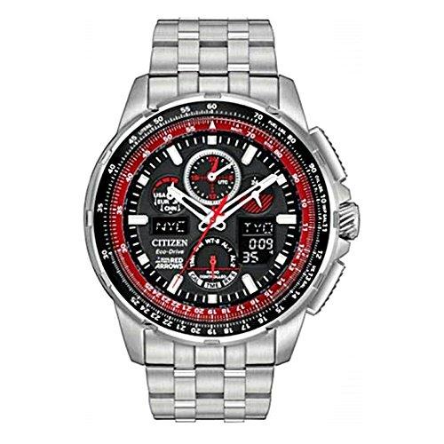 シチズン/CITIZEN/腕時計/プロマスター/レッドアローズ/メンズ/JY8059-57E/エコドライブ/電波時計/クロノグラフ/ワールドタイム