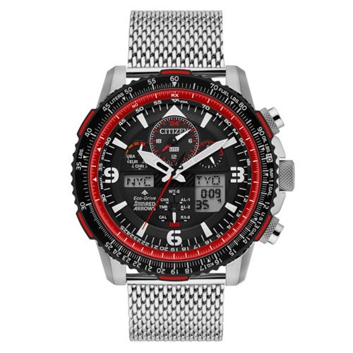 シチズン/CITIZEN/腕時計/プロマスター/レッドアローズ/メンズ/JY8079-76E/エコドライブ/電波時計/クロノグラフ/ワールドタイム