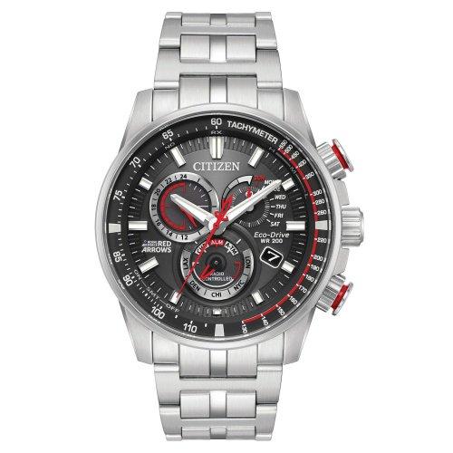 シチズン/CITIZEN/腕時計/プロマスター/レッドアローズ/メンズ/AT4120-51E/エコドライブ/電波時計/クロノグラフ/ワールドタイム