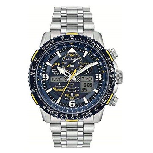シチズン/CITIZEN/腕時計/プロマスター/エコドライブ/ブルーエンジェルス/BJ7006-56L/メンズ/電波時計/スライドルールベゼル