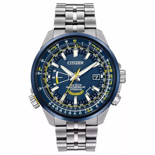 シチズン/CITIZEN/腕時計/プロマスター/エコドライブ/ブルーエンジェルス/CB0147-59L/メンズ/電波時計/スライドルールベゼル/チタン