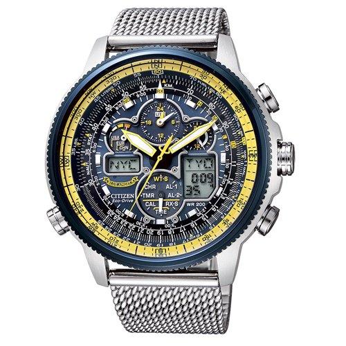 シチズン/CITIZEN/腕時計/プロマスター/エコドライブ/ブルーエンジェルス/JY8031-56L/メンズ/電波時計/スライドルールベゼル