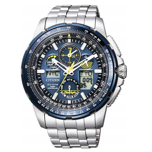 シチズン/CITIZEN/腕時計/プロマスター/エコドライブ/ブルーエンジェルス/ JY8058-50L/メンズ/電波時計/スライドルールベゼル/パーフェックスマルチ3000