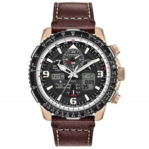シチズン/CITIZEN/腕時計/プロマスター/スカイホーク/JY8076-07E/メンズ/電波時計/スライドルールベゼル/ワールドタイム