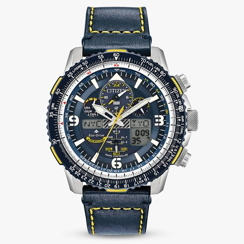 シチズン/CITIZEN/腕時計/プロマスター/エコドライブ/ブルーエンジェルス/JY8078-01L/メンズ/電波時計/スライドルールベゼル
