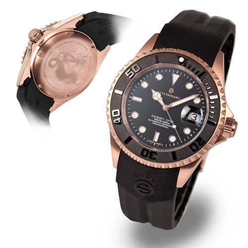 スタインハート/Steinhart/腕時計/オーシャン/OCEAN 1 PINK GOLD CERAMIC/メンズ/スイスメイドオートマチック