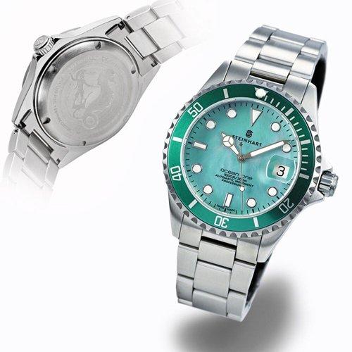 スタインハート/Steinhart/腕時計/オーシャン/OCEAN ONE 39 GREEN MOP/メンズ/スイスメイドオートマチック