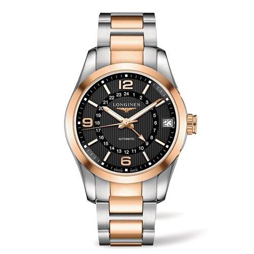 ロンジン/Longines/腕時計/Conquest Classic/コンクエスト/L27995567/オートマチック/スイスメイド/GMT/デイトカレンダー/ツートーン