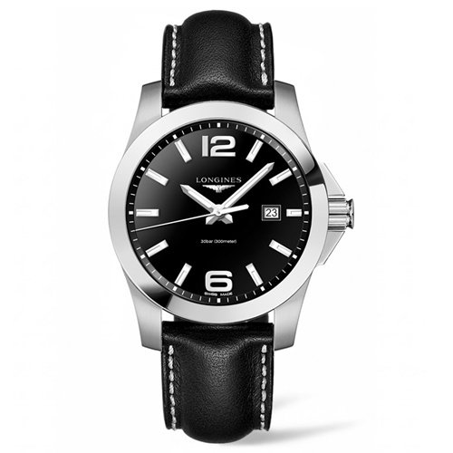 ロンジン/Longines/腕時計/Conquest/コンクエスト/L37604563/クォーツ/スイスメイド/デイトカレンダー/ブラック