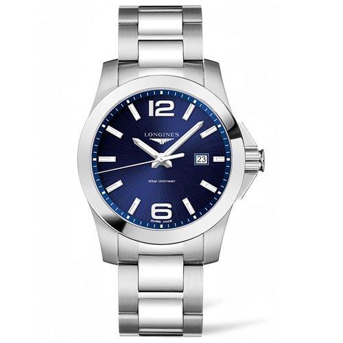ロンジン/Longines/腕時計/Conquest/コンクエスト/L37604966/クォーツ/スイスメイド/デイトカレンダー/ブルー