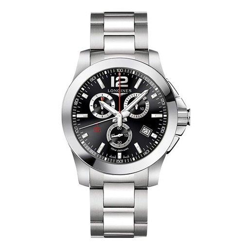 ロンジン/Longines/腕時計/Conquest/コンクエスト/L38004566/メンズ/クォーツ/スイスメイド/クロノグラフ/デイトカレンダー