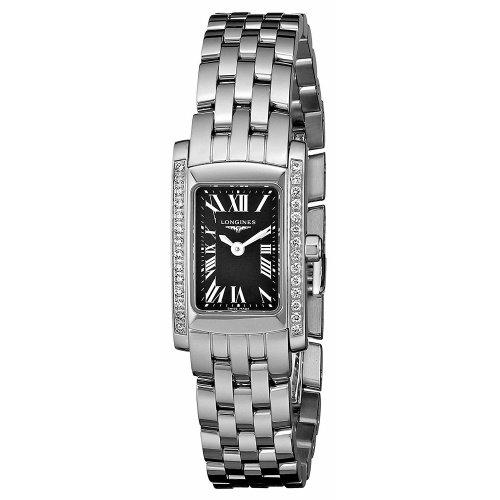 ロンジン/Longines/腕時計/Dolcevita/ドルチェヴィータ/L5.158.0.79.6/レディース/クォーツ/スイスメイド/ダイヤモンド/ブラック