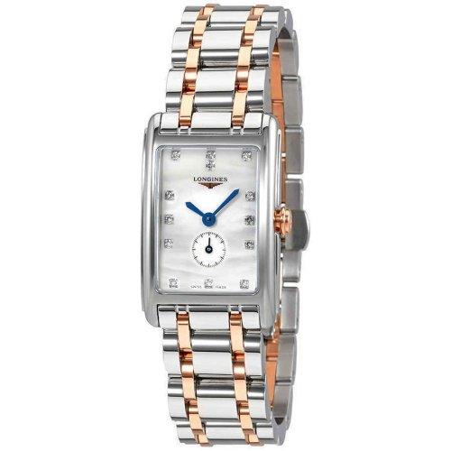 ロンジン/Longines/腕時計/Dolcevita/ドルチェヴィータ/L52555877/レディース/クォーツ/スイスメイド/ダイヤモンド/マザーオブパール/18ktゴールド