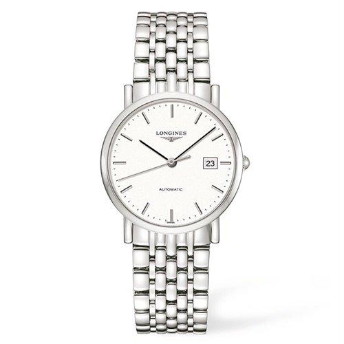 ロンジン/Longines/腕時計/Elegant/エレガント/L4.809.4.12.6 /レディース/オートマチック/スイスメイド/デイトカレンダー/ホワイト