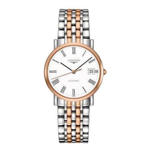 ロンジン/Longines/腕時計/Elegant/エレガント/L4.809.5.11.7/レディース/オートマチック/スイスメイド/デイトカレンダー/ホワイト