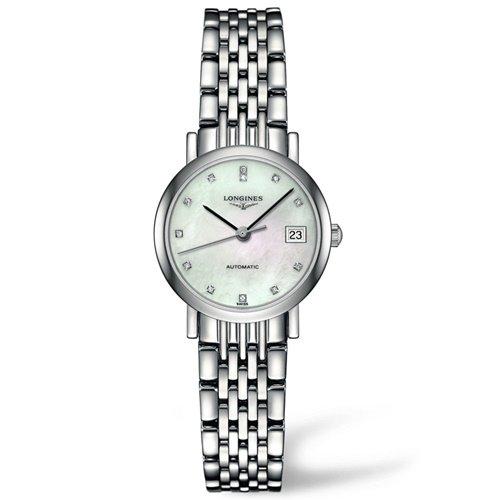 ロンジン/Longines/腕時計/Elegant/エレガント/L43094876/レディース/オートマチック/スイスメイド/デイトカレンダー/ダイヤモンド/MOP