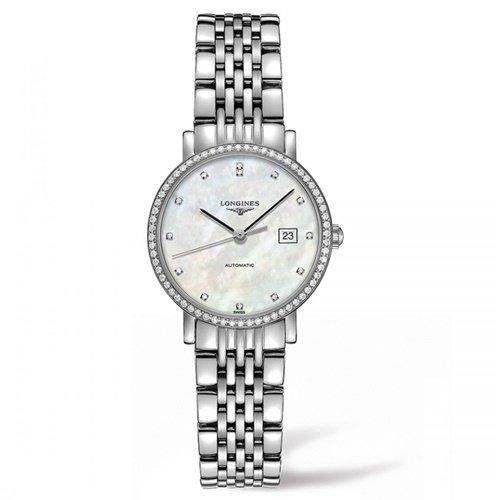 ロンジン/Longines/腕時計/Elegant/エレガント/L43100876/レディース/オートマチック/スイスメイド/デイトカレンダー/ダイヤモンド/MOP