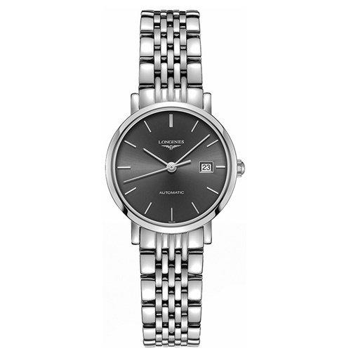 ロンジン/Longines/腕時計/Elegant/エレガント/L43104726/レディース/オートマチック/スイスメイド/デイトカレンダー/グレー