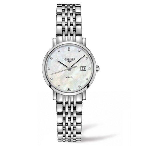 ロンジン/Longines/腕時計/Elegant/エレガント/L43104876/レディース/オートマチック/スイスメイド/デイトカレンダー/ダイヤモンド/MOP