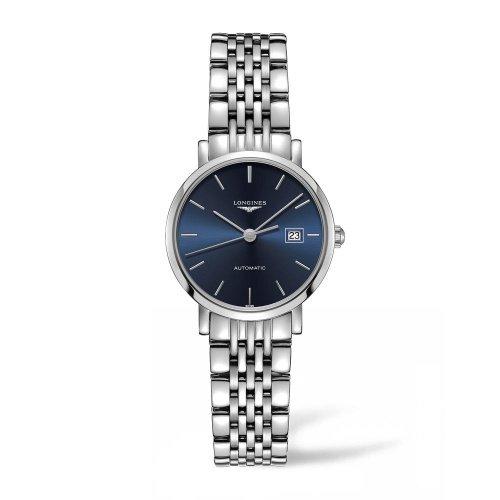 ロンジン/Longines/腕時計/Elegant/エレガント/L43104926/レディース/オートマチック/スイスメイド/デイトカレンダー/ブルー