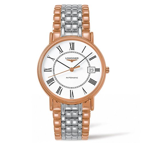 ロンジン/Longines/腕時計/Flagship/フラッグシップ/L49211117/メンズ/オートマチック/スイス製/デイト/ローマン/ホワイト