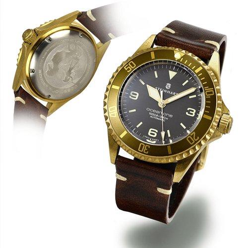 スタインハート/Steinhart/腕時計/オーシャン/OCEAN 1 BRONZE LIGHT BROWN/ダイバーズウォッチ/メンズ/スイスメイドオートマチック