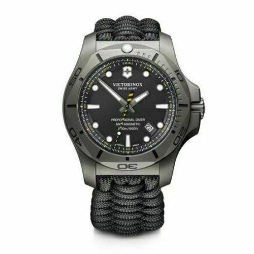 ビクトリノックス/VICTORINOX/腕時計/INOX/プロフェッショナルダイバー/241812/200m防水/ブラック×ブラック