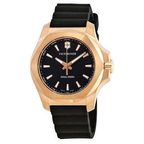 ビクトリノックス/VICTORINOX/腕時計/レディース/INOX/INOX V/241808/200m防水/ブラック×ブラック